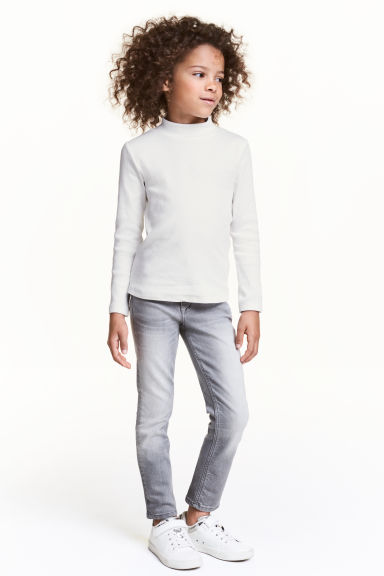 Slim Jeans - Grey - Kids | H&M CN