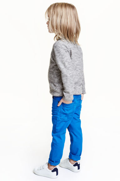 Stretch trousers - Cornflower blue -  | H&M CN 1