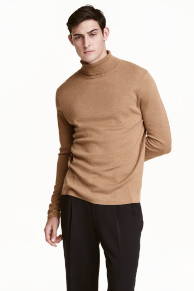 Polo-neck jumper Model