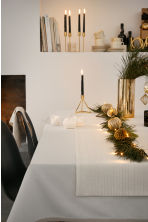 Glittery table runner - White/Gold - Home All | H&M CN 1