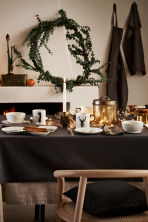 Cotton tablecloth - Dark grey - Home All | H&M CN 1