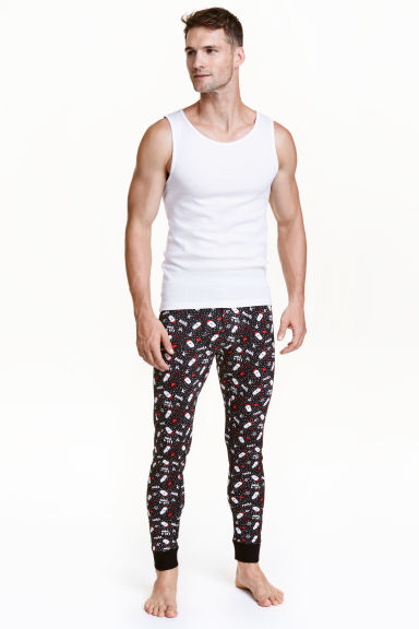 Longjohns - Black/Santa - Men | H&M CN