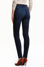 Shaping Skinny High Jeans - Dark denim blue - Ladies | H&M CN 2