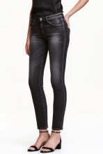 Slim Regular Ankle Jeans - 近黑色 - 女士 | H&M CN 1