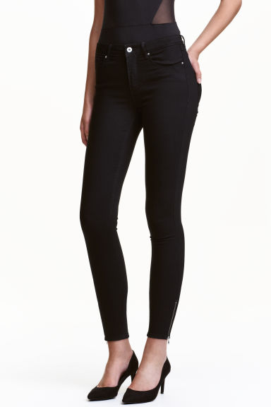 Ankle-length trousers - Black - Ladies | H&M CN 1