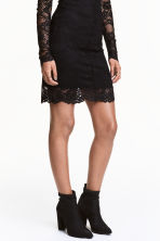 Glittery ankle boots - Black - Ladies | H&M CN 1