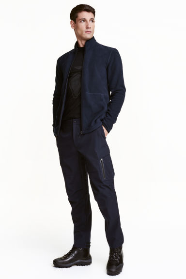 Trekking trousers - Dark blue - Men | H&M CN 1
