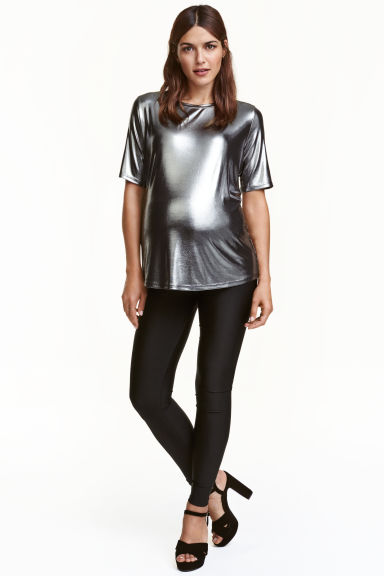 MAMA Jersey leggings - Black - Ladies | H&M CN 1