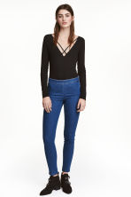 Pantaloni elasticizzati - Blu denim - DONNA | H&M IT 2