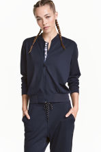 Sports jacket - Dark blue - Ladies | H&M CN 1
