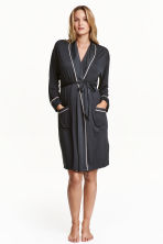 MAMA Jersey dressing gown - Dark grey -  | H&M CN 1