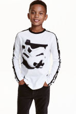 Long-sleeved T-shirt - null -  | H&M CN 1