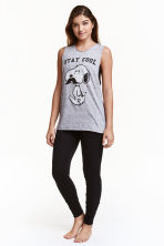 Pyjamas - Grey/Snoopy - Ladies | H&M CN 1