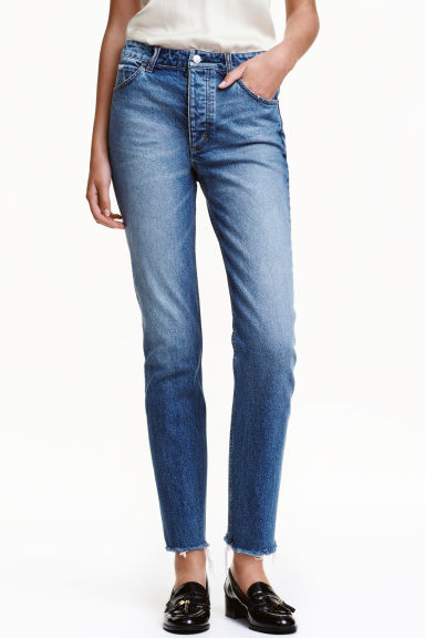 Straight Regular Jeans - Blu denim - DONNA | H&M IT 1