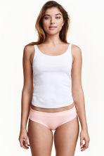 3-pack cotton-blend briefs - Light pink - Ladies | H&M CN 1