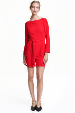 Playsuit - Red - Ladies | H&M CN 2
