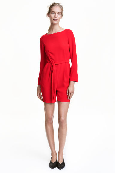 Playsuit - Red - Ladies | H&M CN 1
