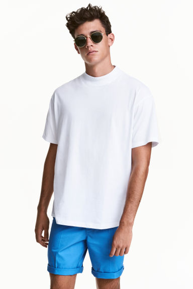 Short chino shorts - Bright blue - Men | H&M CN 1