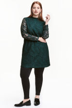 H&M+ Abito in pizzo - Verde scuro - DONNA | H&M IT 1