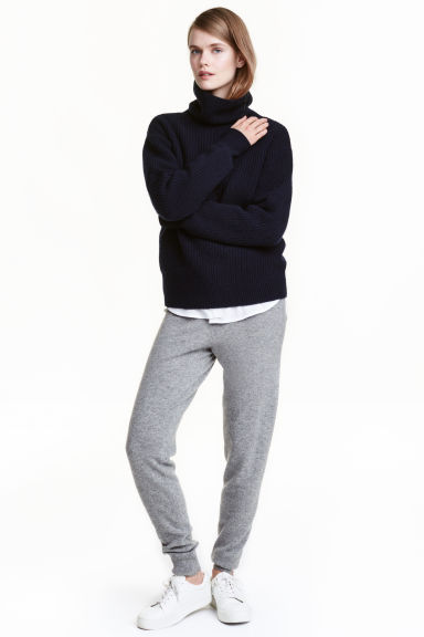 Cashmere joggers - Grey - Ladies | H&M CN