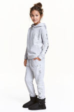 Joggers - Light grey marl - Kids | H&M CN 1