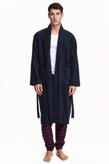 Terry dressing gown Model