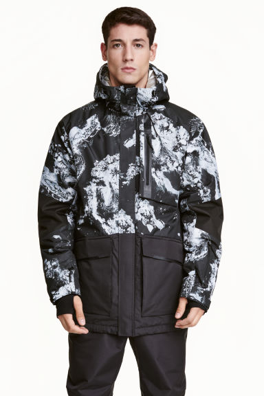 Padded ski jacket Model