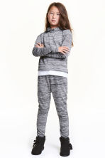 Joggers - Dark grey marl - Kids | H&M CN 1