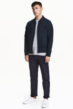 Chinos Slim fit - Blu scuro - UOMO | H&M IT 1