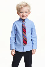 Shirt and tie - Blue - Kids | H&M CN 1