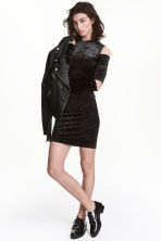 Long-sleeved dress - Black - Ladies | H&M CN 1