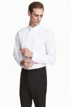 Dress shirt Slim fit - White - Men | H&M CN 1