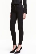 Skinny Regular Ankle Jeans - 黑色 - 女士 | H&M CN 1