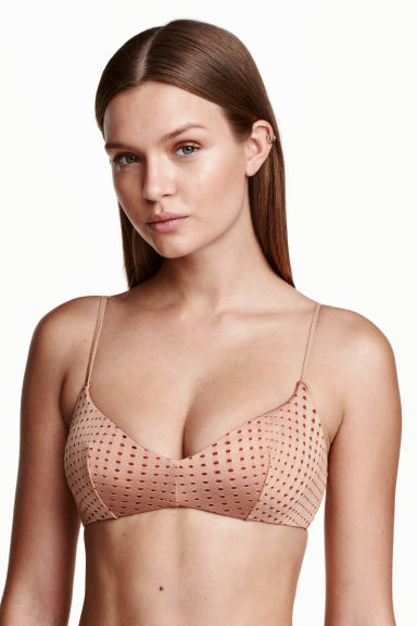 Bikini top - Nougat - Ladies | H&M IE