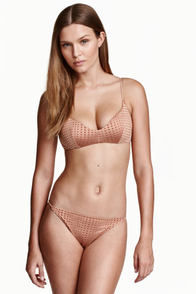 Bikini brief bottoms - Nougat - Ladies | H&M 1