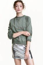Sweatshirt - Dusky green - Ladies | H&M GB 1