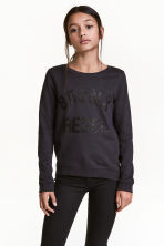 Printed sweatshirt - Dark grey/Bronx - Kids | H&M 1