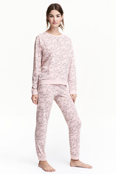 Pyjamas - Light pink/Horse -  | H&M 1