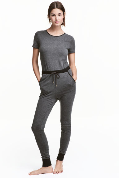 連身褲裝 - Dark grey - Ladies | H&M 1