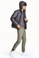 Skinny Regular Jeans - Khaki green - Men | H&M CN 1