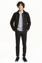 Chinos Skinny fit - Black -  | H&M 2