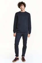 Chinos Skinny fit - Dark blue - Men | H&M CN 1