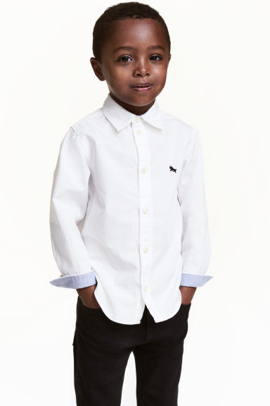 棉質襯衫 - White - Kids | H&M