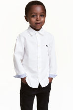 Cotton shirt - White - Kids | H&M 1