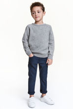 Stretch trousers Slim fit - Dark blue - Kids | H&M CN 1