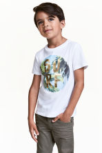 Printed T-shirt - White - Kids | H&M 1