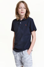 Polo衫 - Dark blue - Kids | H&M 2