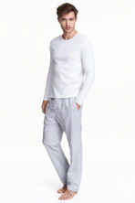 Pyjamas - White/Checked - Men | H&M 1