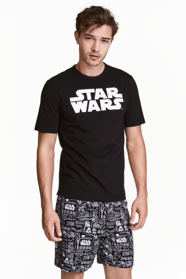 Pyjamas - Black/Star Wars - Men | H&M 1