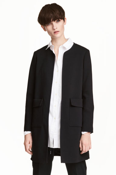 Short coat - Black - Ladies | H&M CA
